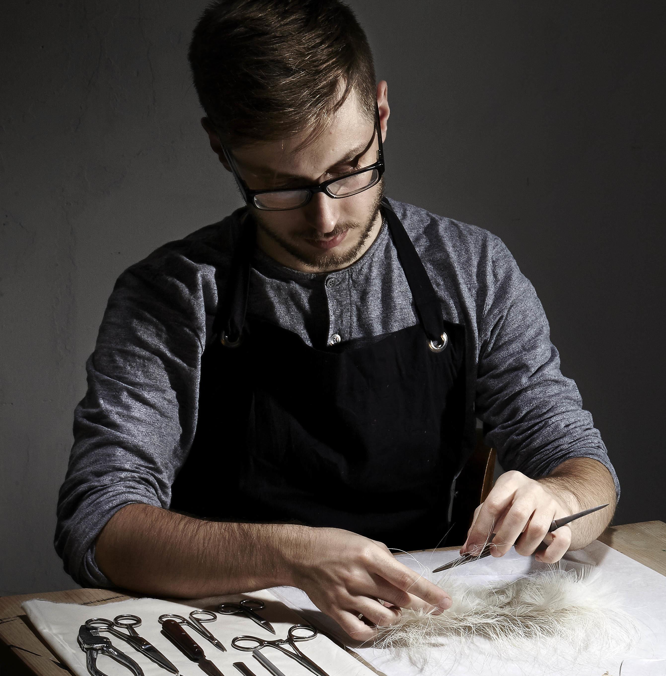 Julien Vermeulen - savoir-faire plumassier - plume - plumes